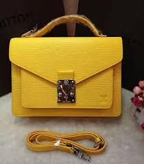 louis vuitton yellow bag. louis vuitton epi leather monceau bb mimosa bag mango yellow