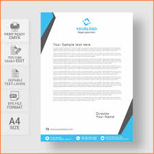 Letterhead Design In Word 007 Template Ideas Letterhead Design Templates Word Free