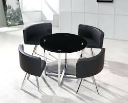 round glass dining tables and chairs dining room 8 stunning hideaway dining table and chairs black round glass