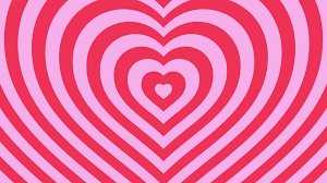 Love Hearts Background Loop Valentines Day Pink Motion Background