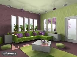 Green And Purple Room Purple And Green Living Room Matakichicom Best Home Design Gallery