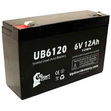 <b>ROFLAN</b> 6V8AH Battery Replacement - UB6120 Universal Sealed ...