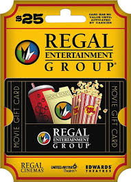 Regal Entertainment Group 25 Gift Card