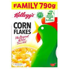kelloggs corn flakes cereal 790g