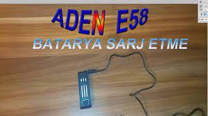 Aden e58 Batarya Sarj Etme - YouTube