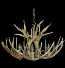 elk lighting pembroke faux deer antler chandelier elk chandelier