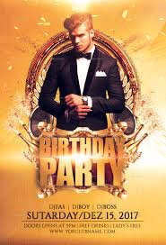 Birthday Flyers Birthday Party 3 Flyer