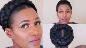 Goddess Hair Style grecian goddess braid on short natural hair youtube 3896 by wearticles.com