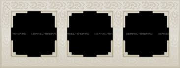 <b>Werkel</b> купить дешево <b>Рамка</b> на 3 поста WL05-Frame-03 ...