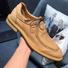 <b>2018 New Men'S Vintage</b> Leather Shoes Formal Dresses Party ...