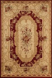 rugs america soro 2513 red aubusson red rug