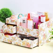 diy decorated storage boxes. Creative DIY Ideas Wooden Jewelry Box Drawer Storage Cosmetic Bins Desktop Quality Diy Decorated Boxes E