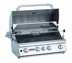 bull angus 30 inch 4 burner built in natural gas grill with rotisserie 47629