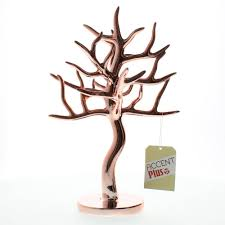 Large Jewelry Tree Display Stand Tree Branch Jewelry Stand Unique Lady Jewelry Stand Rose Gold 25