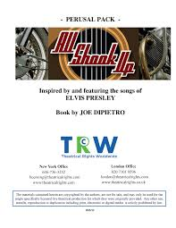 If people think that you guys tolerate me, then they'll leave me alone. All Shook Up Script Pages 1 50 Flip Pdf Download Fliphtml5