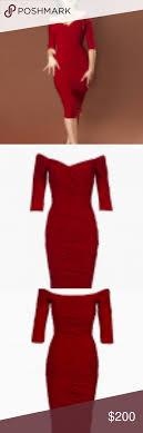 Pinup Girl Clothing Monica Dress In Oxblood Price Is Firm
