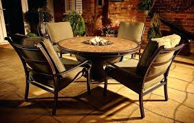 fire pit table with chairs outdoor dining table fire pit with round patio table shaped and fire pit table with chairs