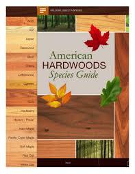 Wood Species Chart Species Guide American Hardwood Information Center