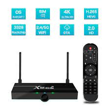 Wholesale X88 4G Lte TV Box Android 9.0 2GB RAM 16GB Google Voice Assistant  RK3328 4K Quad Core With SIM Card Australian regulations From China