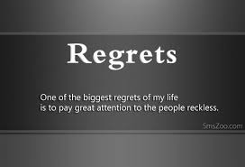 Regret Love Quotes Extraordinary Quotes About Regrets In Life Love Guilt Mistakes