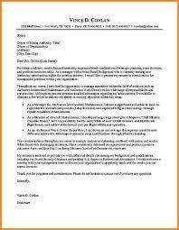 5 Bullet Point Cover Letter Cook Resume