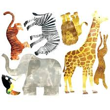 wildlife wall decal wild animals wall decal wildlife wall decals for nursery