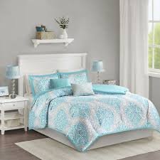 beautiful modern chic light blue aqua