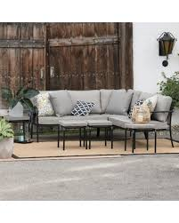 outdoor sectional metal. Outdoor Belham Living Parkville Metal Sofa Sectional Set H