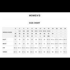 Speedo Tankini Size Chart Nwt Speedo One Piece Swimsuit Size 6 Nwt