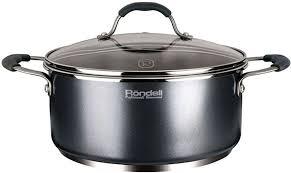 Купить <b>Кастрюля</b> RONDELL Stern RDS-019, <b>4.7л</b>, с крышкой ...