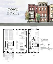 Waterside  New Construction Townhomes For Sale Bensalem PA Townhomes Floor Plans