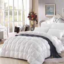 King Size Down Comforter. Luxurious King Size White Goose Down ... & high qaulity twisting bedding winter 95 goose down comforter winter quilt  warmly white comforter king - Adamdwight.com