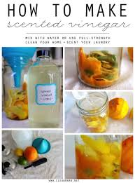 how to make scented vinegar