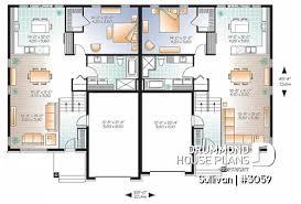 semi detached house plans and duplex