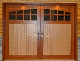 d and d garage doorsWood Garage Door Stable Door Two Tone Garage Door with Glass