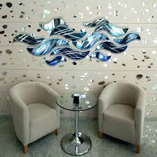 metal wall art decor and sculptures lovely large silver abstract lo