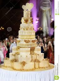 Download Giant Wedding Cake Stock Image Image Of Intricate Bakery