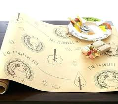 round paper tablecloths table cloth craft thanksgiving runner covers round paper tablecloths