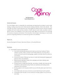 Free Social Media Intern Job Description | Templates At ...