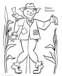 scarecrow printables coloring pages scarecrow pictures to color coloring scarecrow free scarecrow coloring pages printable coloring