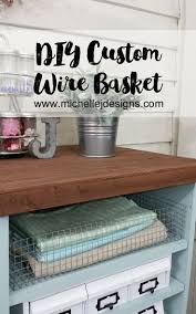 How To Create Your Own Wire Baskets ... it's hard to find the right