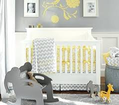 yellow and grey baby bedding baby bedding set pottery barn kids