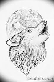 тату волка эскизы мужские 09032019 027 Tattoo Sketches