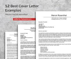 Best Cover Letter The 12 Best Cover Letter Examples To Nail Your Next Job