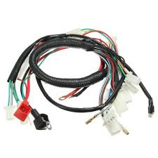 wiring harness loom for chinese electric start quads cc cc wiring harness loom for chinese electric start quads 50cc 70cc 90cc 110cc 125cc