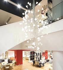 large modern chandeliers led twisted chandelier for large spaces large modern ceiling lights uk