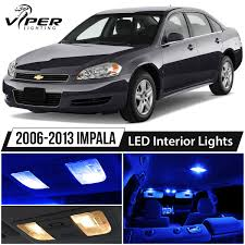 2003 Chevy Impala Interior Lights Details About 2006 2013 Chevy Impala Blue Led Interior Lights Package Kit