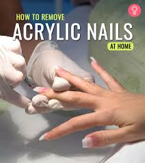 how to remove acrylic nails the right