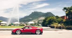 Ferrari Sp38 Deborah Trifft Ferrari F40 Rendezvous In Lugano Classic Driver Magazine