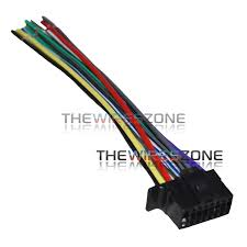 wiring sony diagram cdx cx wiring printable wiring 16 pin wire harness for select sony car stereos the wires zone source